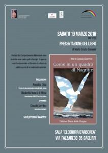 """Presentazione """"Come un quadro di Magritte"""" Locandina"""