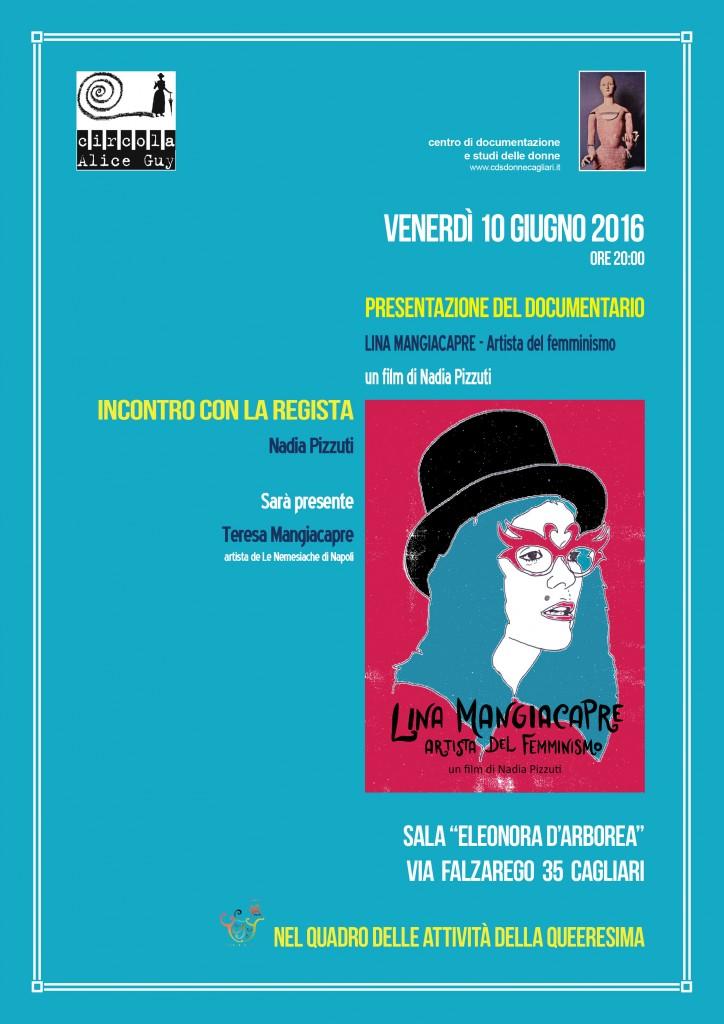 locandina film Lina Mangiacapre
