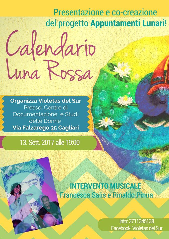 calendario Luna Rossa